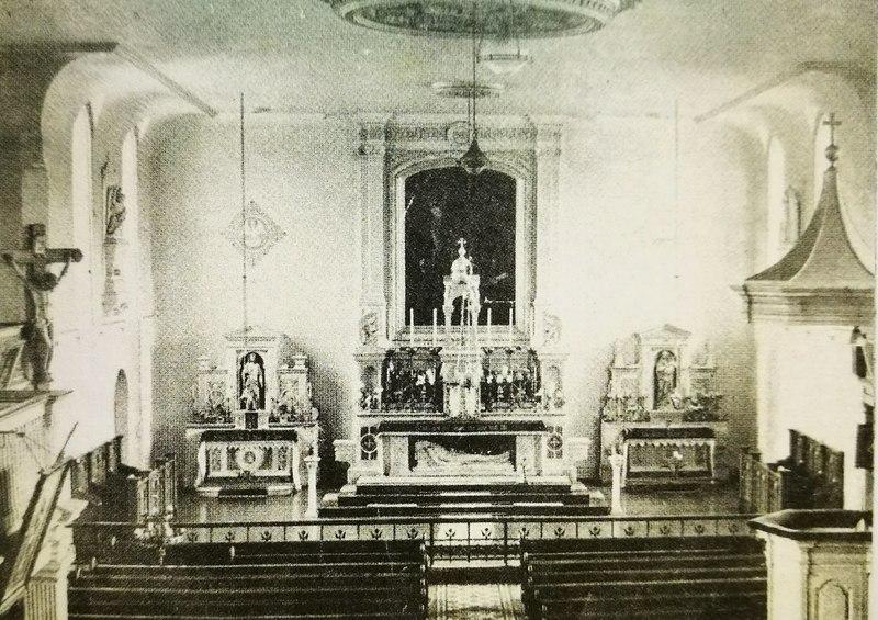 Interior St. Finbarr's South Chapel, 1951.jpg